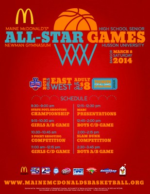 2014 Maine McDonald's High School Senior All-Star Games